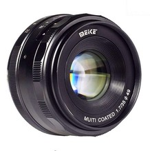 Meike MK-E-35-1.7 35mm f1.7 Large Aperture Manual Focus lens APS-C For Sony E Mount cameras NEX7 a6000 a6300