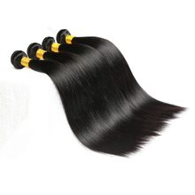 Brazilian Straight Human Hair Weave Bundles Wonder Beauty 1/3/4Pcs Natural Black Hair 8-32 Inches Non Remy Hair Can Be dye(China)