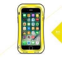 LOVE MEI Case For Iphone 7 7 Plus Small Waist Upgrade Version Life Waterproof Shockproof Metal