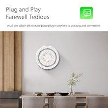 Wi-Fi звуковая сигнализация детектор домашней автоматизации Батарея-приведенный в действие также может быть предъявлено обвинение с C usb-разъемом и сигнализацией Сенсор
