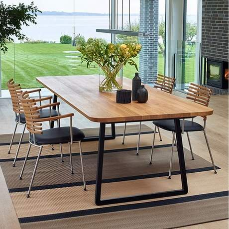 Great Conference Tables Office Furniture Commercial Furniture Iron Solid Wood  Office Table Simple High End Office Desk
