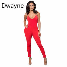 52b130b64742 Sedrinuo Casual New Style Solid Color Women Jumpsuit Romper Playsuit V-Neck  Sleeveless Cotton Grey Black Rompers Womens Jumpsuit