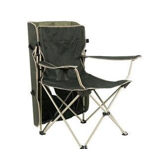 Image 3 - เก้าอี้กลางแจ้งแบบพกพาพับที่ถอดออกได้ Thicken เหล็กท่อคู่ Oxford ผ้าตกปลาชายหาด Shade Canopy Camping เก้าอี้