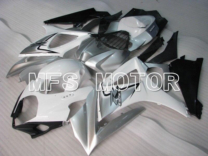 Формы для Suzuki GSXR 1000 К7 2007 2008 АБС впрыска Обтекателя комплекты GSXR1000 К7 07 08 - другие - белый/черный/серебристый