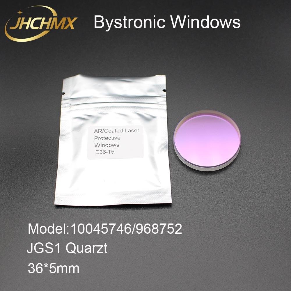 JHCHMX 20pcs lot JGS1 Quartz Bystronic Protective Windows Lens 10045746 968752 36 5mm For Bystronic Highyag