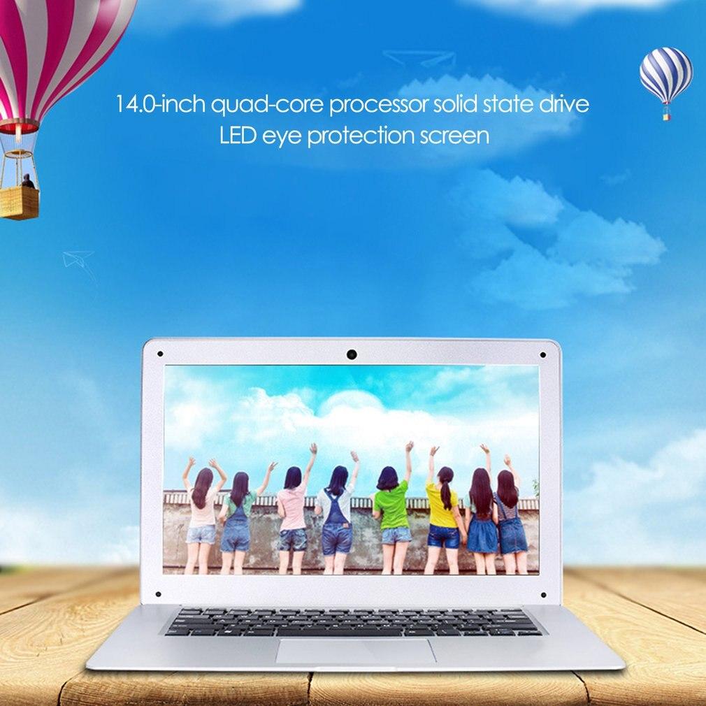 Ordinateur portable 14 pouces Intel Z8350 Quad Core 2 GBRAM 32 GB SSD 1920 * 1080IPS Windows10 Ultrabook ordinateur portable ordinateur portable