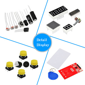 Image 2 - KEYES RFID ARDUINO learning kit with uno r3 upgrade Arduino starter kit for networking learning