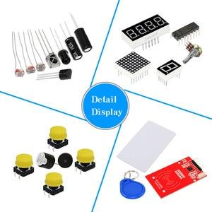 Image 2 - KEYES RFID ARDUINO Обучающий набор с uno r3 обновление Arduino стартовый набор для сетевого обучения