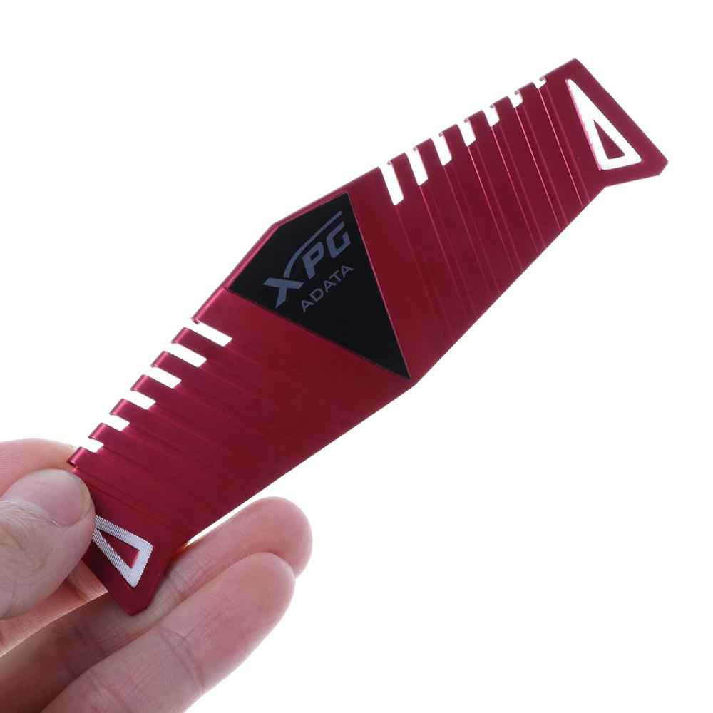 Image 3 - 1Set RAM Red Heatsink Radiator Cooler Cooling Heat Sink 40x126mm for Desktop Memory DDR2 DDR3 DDR4 Heat Dissipation Pad-in Fans & Cooling from Computer & Office