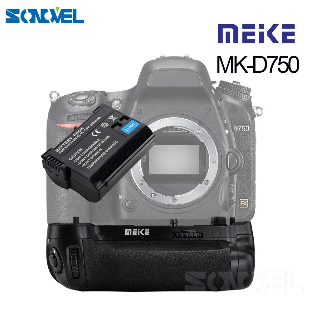 MEIKE MK D750 Batteriegriff Pack Ersatz MB D16 Mit 1 stücke EN EL15 Akku für Nikon D750 DSLR Kamera-in Batterie Griff aus Verbraucherelektronik bei AliExpress - 11.11_Doppel-11Tag der Singles 1