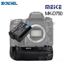 MEIKE MK D750 Poignée De Batterie Pack Remplacement MB D16 Avec 1 pièces EN EL15 Batterie pour Nikon D750 DSLR Caméra