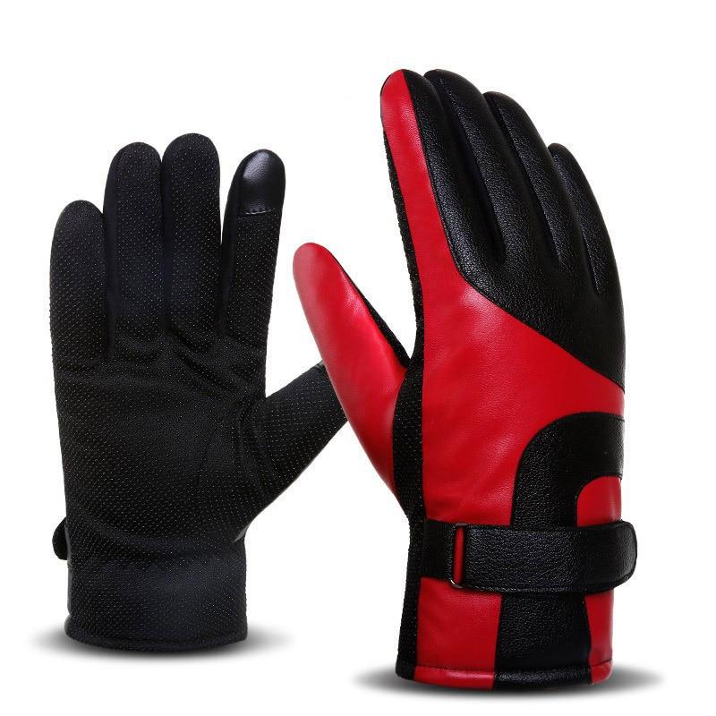 Unisex Radfahren Handschuhe Volle Finger Anti-slip Handschuhe Für Fahrrad Reiten Motorrad Ski Stoßfest Männer Frauen Fahrrad Schwamm Handschuh Bekleidung Zubehör