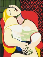 The Woman Picasso Art Oil Painting Pictures By Numbers Digital Pictures Coloring By Hand Unique Gift
