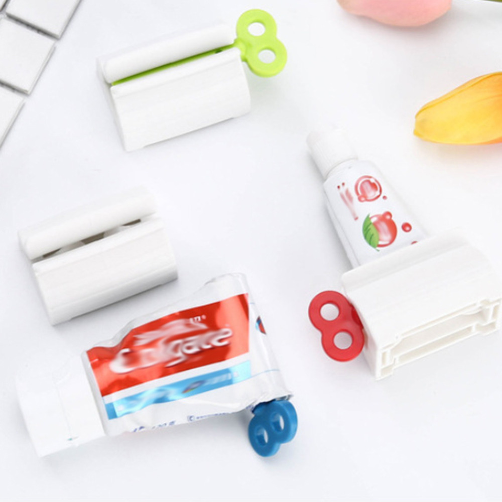 New Creative Rolling Tube Squeezer Tooth Paste Squeezer Toothpaste Tube Partner Dispenser Bathroom Kitchen Accessories