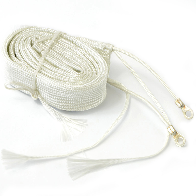 Glass Fiber Heating Tape 220V 1 M Long 100W Temp For Dry Water Pipe Electric Heater Wire Band Belt Fiberglass P0.05