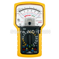 FreeShipping Brand KTI High precision High sensitivity Pointer Multimeter Ohm Test Meter Analog Multimeter EN61010-1,CAT II,600V