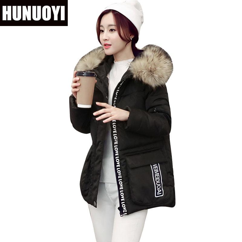 2017 Winter Short Women Cotton Coat Hooded faux Fur Collar Down Cotton Coat Plus Size Fashion Warm Female Jacket Coat HN143 плазморез blueweld best plasma 160