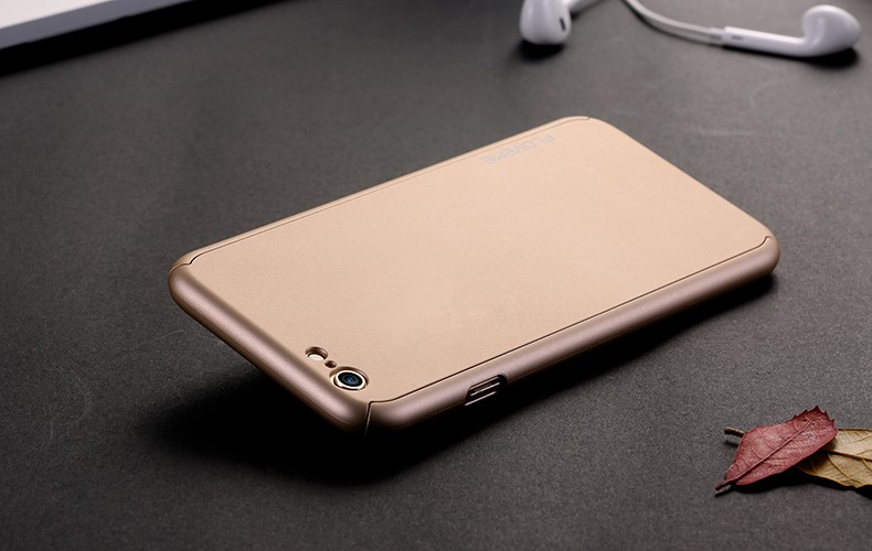 Floveme 6 s 7 plus armor screen protector 360 stopni case dla iphone 7 6 6 s dla iphone 6 6s 7 plus full chroń odporny na wstrząsy pokrywa 27