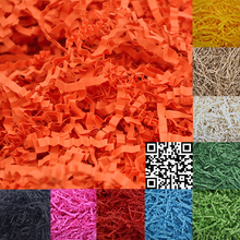 1000g Confetti Crinkle Cut Paper Shred Filler For Gift Wrapping Basket Filing Packing Craft Bedding Jewelry Display Accessories