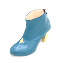 Vocaloid Cosplay Hatsune Miku Shoes Leather Shoes Boots Women's High-heeled Shoes цены онлайн