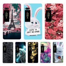 3D Relief Painted Case For Meizu Pro 7 5.2 inch Soft Silicon Cases For Meizu Pro 7 Pattern Cover Back Phone Cases Cartton Shells цена и фото