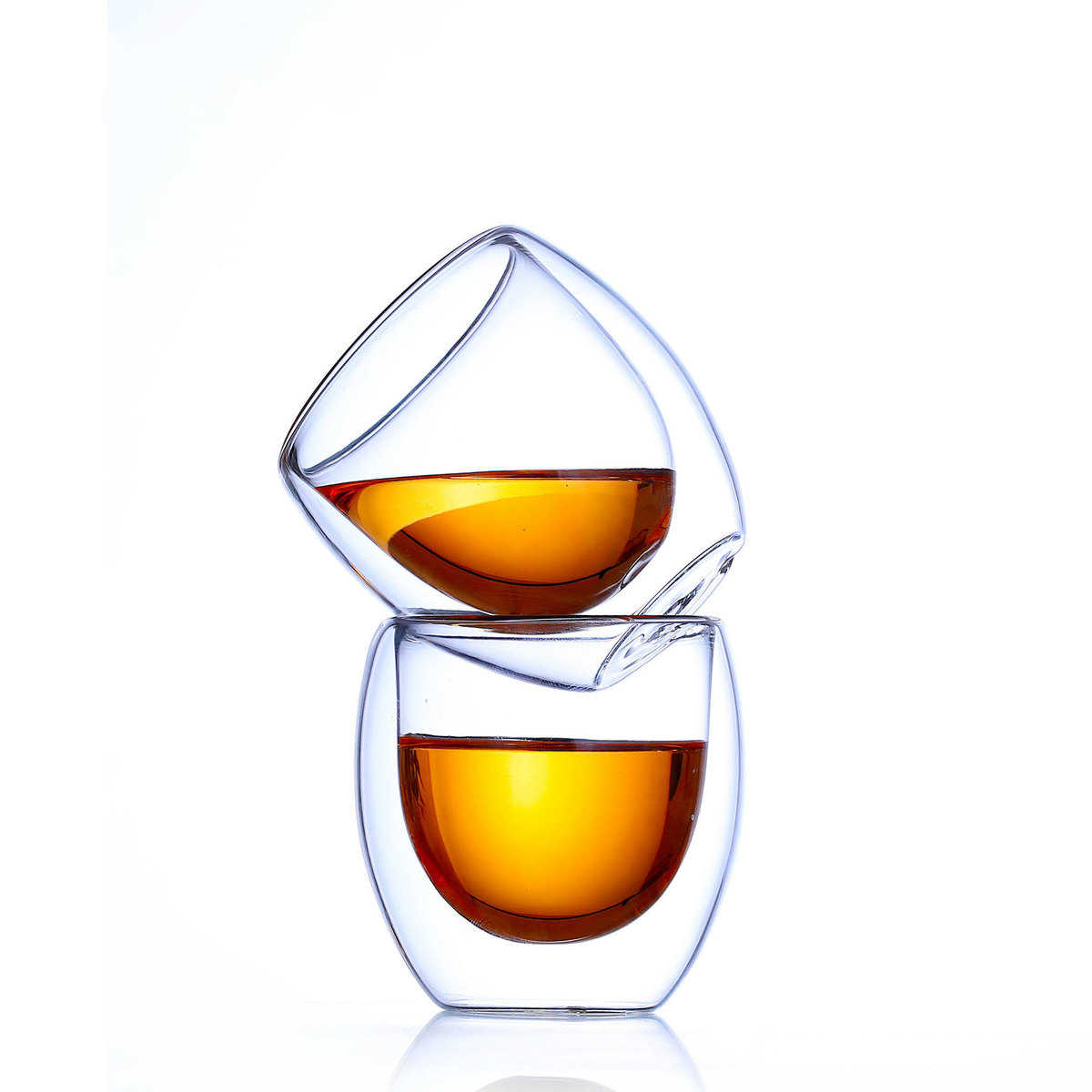 Горячая продажа 6 шт. Bodum Pavina дизайн кофе бокал для вина es чамборд чашка круглый яйцо стекло десерт сок бар кружки для кафе Copo Nmd чашка