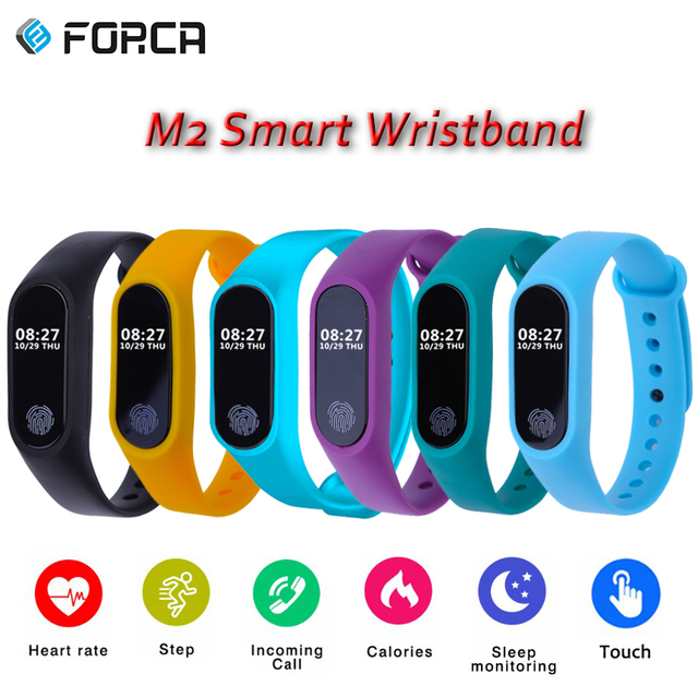 forca m2 oled smart bracelet heart rate monitor sedentary reminder pedometer sleep fitness tracker wristband manual dutch in smart wristbands from rh aliexpress com Manual ES GUID Lines Examples Manual Book