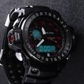 Homens multifunções LED Digital Relógio Alike Mergulho Mergulho Militar Do Exército Do Esporte Relógios À Prova D' Água relógio de Pulso Reloj Hombre orologio uomo