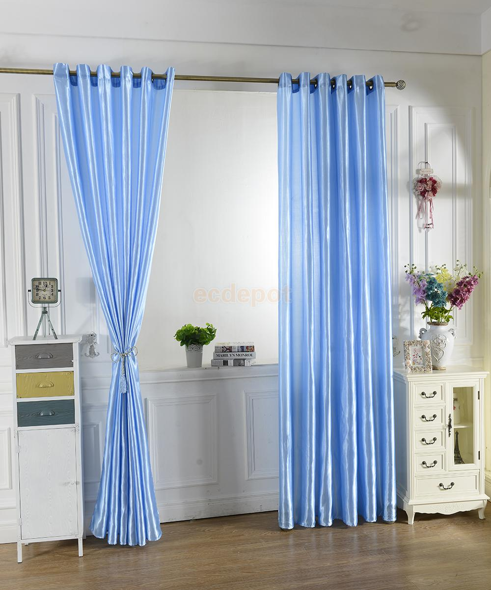 100x200cm Tulle Door Window Curtain Drape Panel Balcony Scarf Valance 11 Colors