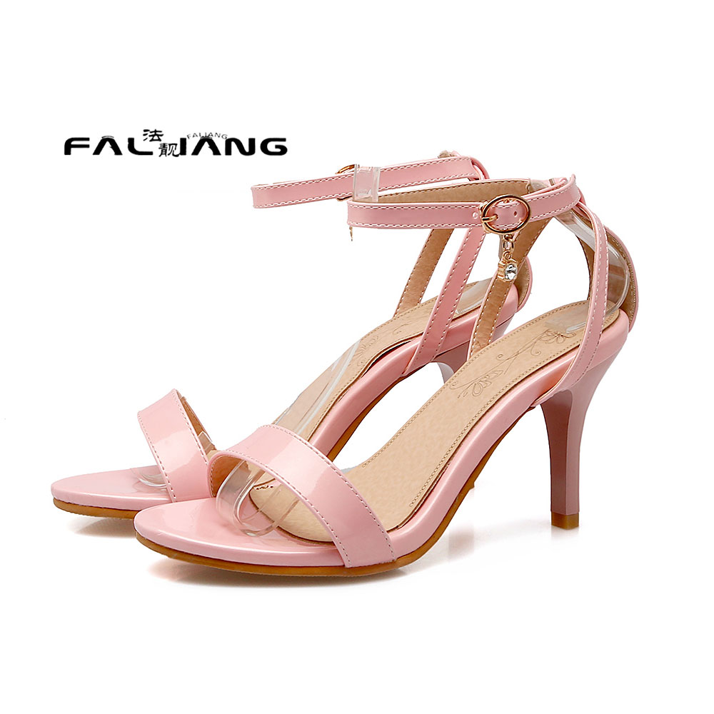 ФОТО   Big Size 11 12 13 14 Thin Heels Side assist Super High Rubber women's sandals women's shoes woman for women platform shoes