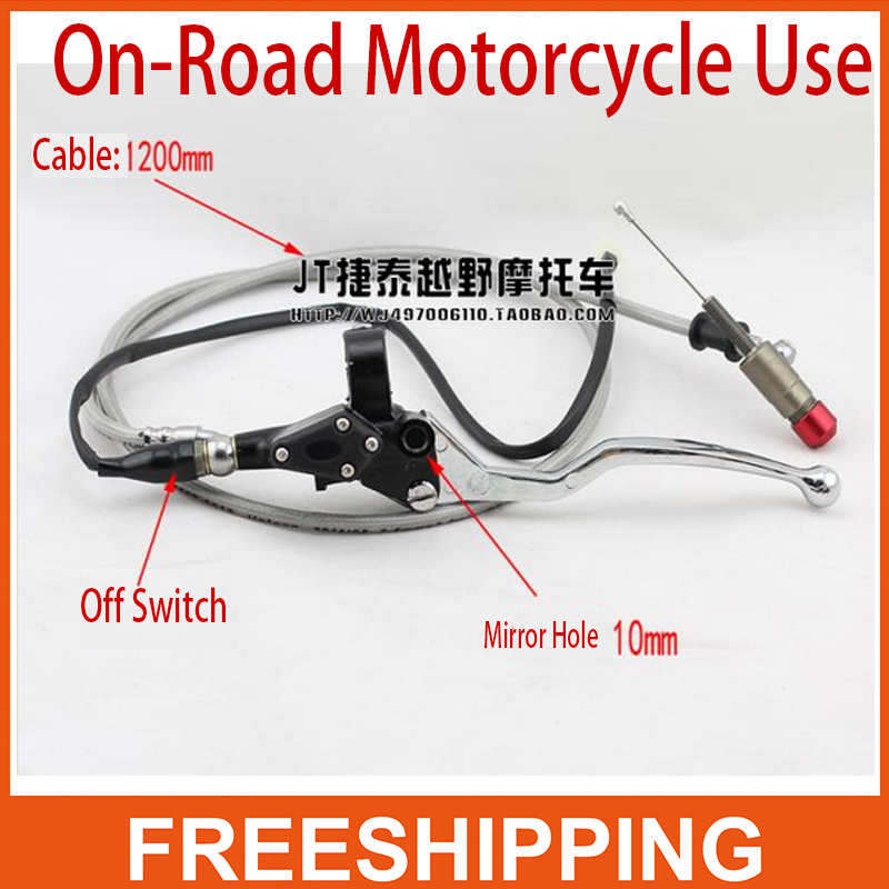 Refires motorcycle belt mirror 125cc 140cc 150CC 200cc 250CC off-road motorcycle refit dirt pit bike motorcycle hydraulic clutch