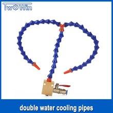 Комплект водяного охлаждения двойной водяного охлаждения трубы + Монтажный блок Для гравировальный станок