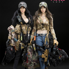 In stock 1/6 Scale DAMTOYS PISCES DCG003 NANA DCG0004 LUCY female Action Figure full set for collection