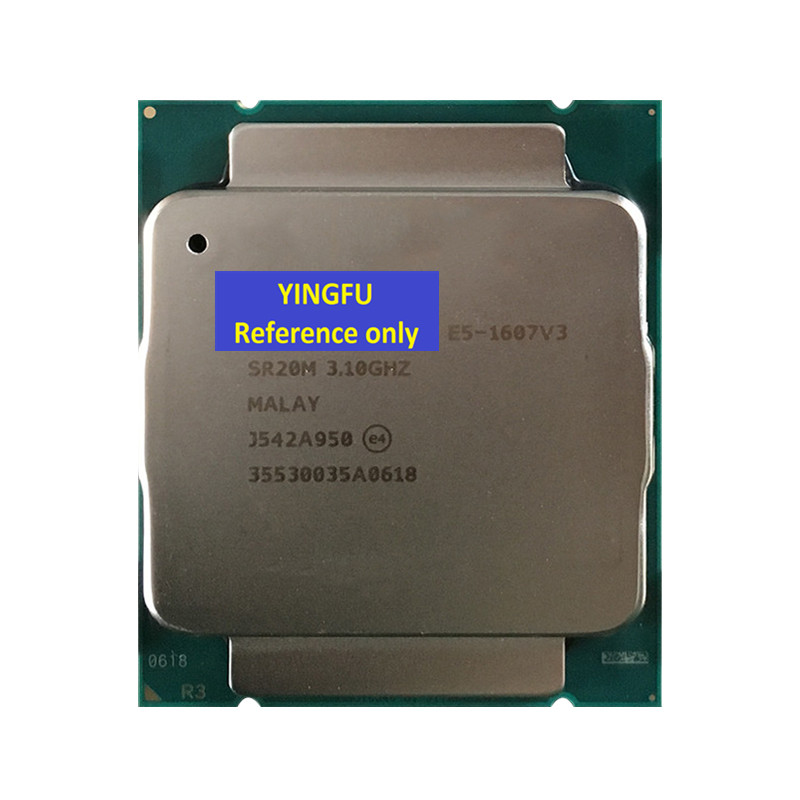 CPU E5-1607V3 SR20M LGA2011-3 Processore CPU 3.1 GHz 4-Core 10 M 140 W E5 1607 V3 e5-1607V3 Testato 100% di lavoroCPU E5-1607V3 SR20M LGA2011-3 Processore CPU 3.1 GHz 4-Core 10 M 140 W E5 1607 V3 e5-1607V3 Testato 100% di lavoro