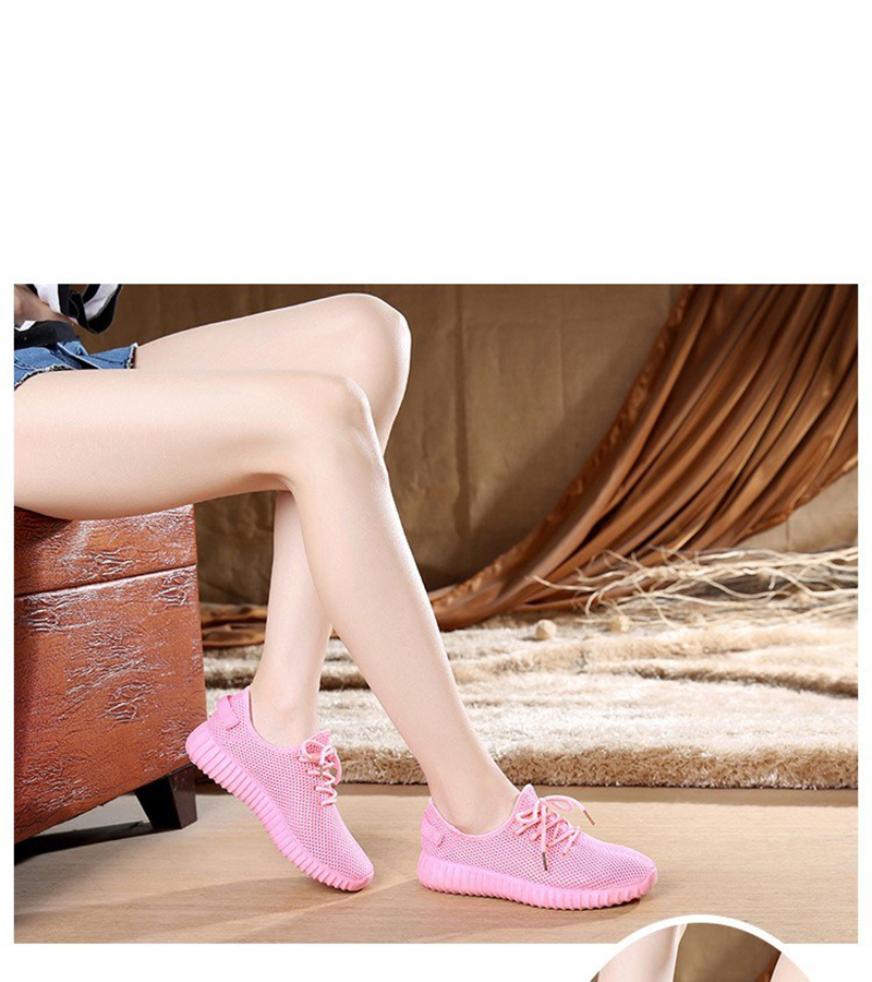 Mesh casual shoes women Breathable Lace Up white sneakers female soft lightweight summer flat Women Vulcanize Shoes 2019 VT243 (6)