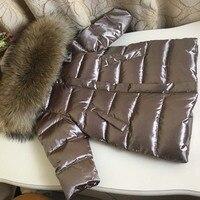 Children's Down Jacket Suit Girl Winter Snowsuit Russian Kids Parka Jacket Fashion Kids Winter Suit Thicker Long Coat 80 150