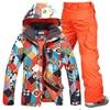 Free Shipping Gsou Snow Men Ski Suit Pants Jackets Set Winter Sports Snowboard Clothing Men S