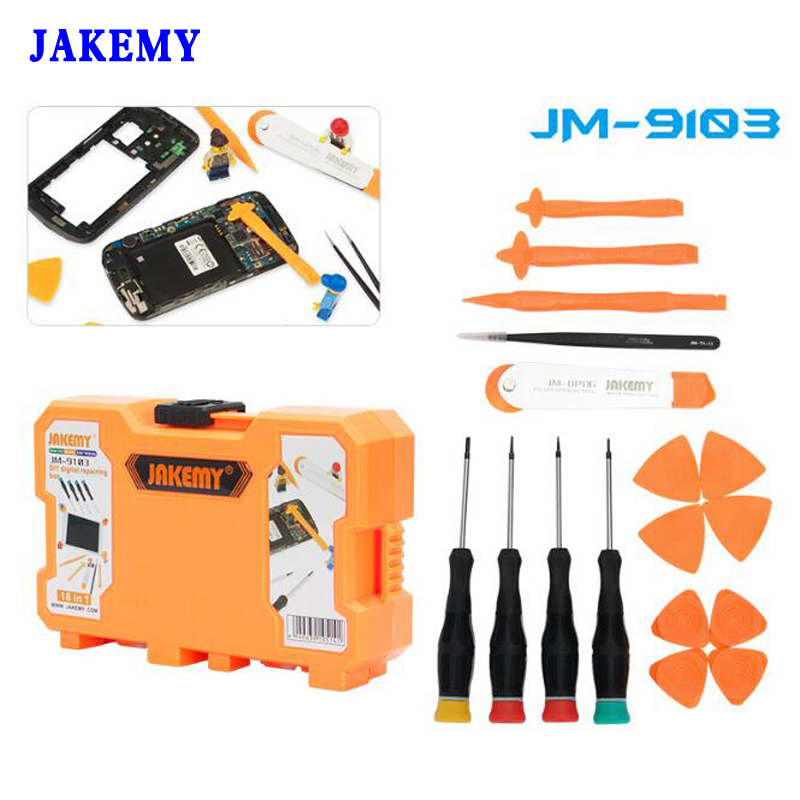 18 in 1 Mobile Phone Repair Tools Kit Roller Opening Tools Screwdriver Set Opening Tool for iPad Tablet Repair Box hot sale screwdriver set repair tools mobile phone repairing opening tool for iphone laptop tablet smartphone free shipping