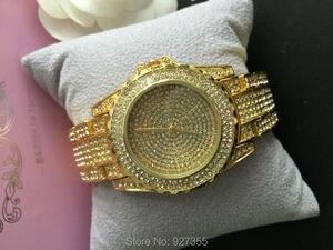 Image 3 - Роскошные женские часы, модные женские Стразы, часы с австрийским кристаллом, керамические часы, женские кварцевые наручные часы, женские часы под платье