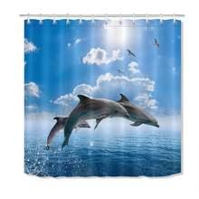 72 ''дельфинов прыжки из голубого море Солнечный свет