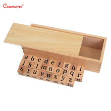 Chinese Phonetic Letter Structure Exercise Montessori Language Cubes Teaching Toy With Box Wooden Kids Preschool LA010-3