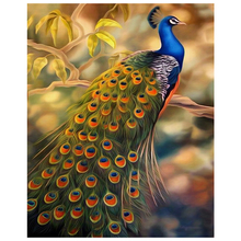 Beautiful peacock diamond Embroidery diy painting mosaic diamant 3d cross stitch pictures H736