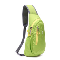 High Quality Nylon Waterproof Sport Chest Bags Casual Running Outdoor Diagonal Package Chest Bag Free Shipping