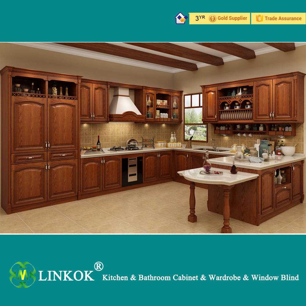 Cabinet kitchen furniture maple china bathroom cabinet cabinet - Linkok Furniture Wholesale Cheap China Blinds Factory Directly Maple Painted Solid Wood Kitchen Cabinets On Aliexpress Com Alibaba Group