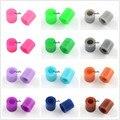 1000pcs 3~3.3x2.5~2.6mm PE DIY Melty Beads Fuse Beads Hama for Kids Toy Refills Tube Chocolate Orange Blue Black White