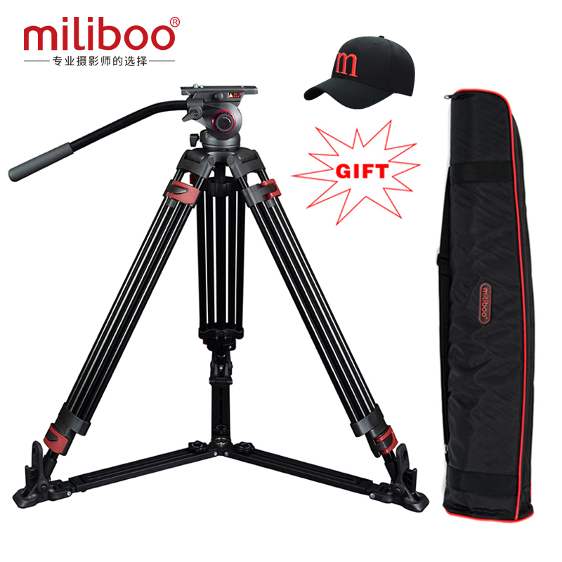 Special offers miliboo MTT609A  Aluminum professional video camcorder Tripod  VS manfrotto tripod