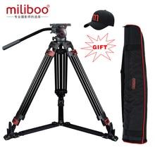 Sonderangebote miliboo MTT609A Aluminium professionelle video camcorder Stativ VS manfrotto stativ