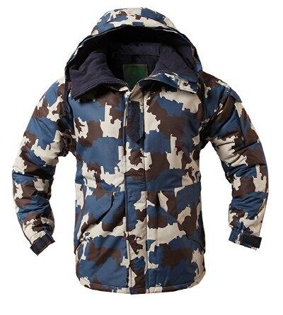 """Премиум """"SouthPlay"""" Зимний Сезон Водонепроницаемый 10000 мм согревающие лыжные и сноубордические коричневые Camoflage куртки - Цвет: Wood Camo Jacket"""