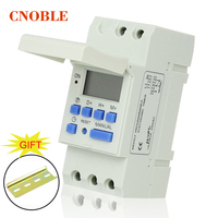 AC 220V Digital LCD Power Timer Programmable Time Switch Relay 16A GOOD Temporizador Din Rail