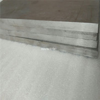 Grade 2 Titanium Sheet Gr2 Ti Titanium Metal Plate 7mm 304mm 304mm Wholesale Price Free Shipping